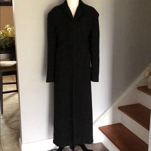 Women's Long black coat